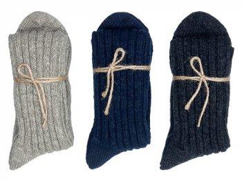 TOUJOURS Wool Cotton Mix Socks