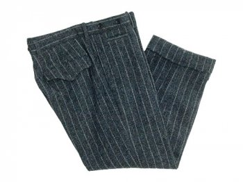 TOUJOURS Double Cuffs Cropped Pants GRAY