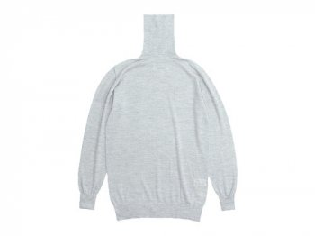 TOUJOURS Turtle Neck Knit LIGHT GRAY