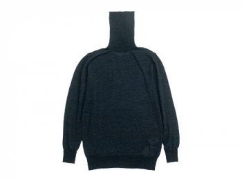 TOUJOURS Turtle Neck Knit CHARCOAL