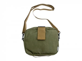ENDS and MEANS Daytrip Pouch RANGER GREEN