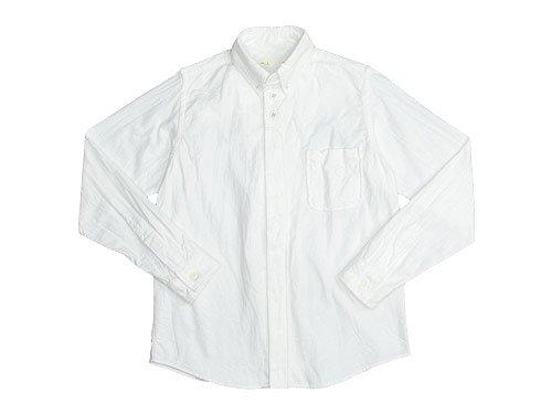 nisica ボタンダウンシャツ 長袖 ネル / チェック