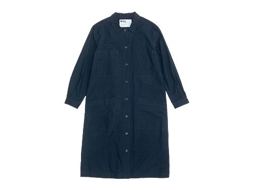 MHL. G.D.OXFORD ONE-PIECE 121NAVY 〔レディース〕