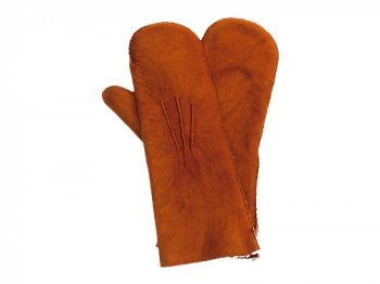MARGARET HOWELL SHEEPSKIN MITTEN 055BROWN 〔レディース〕