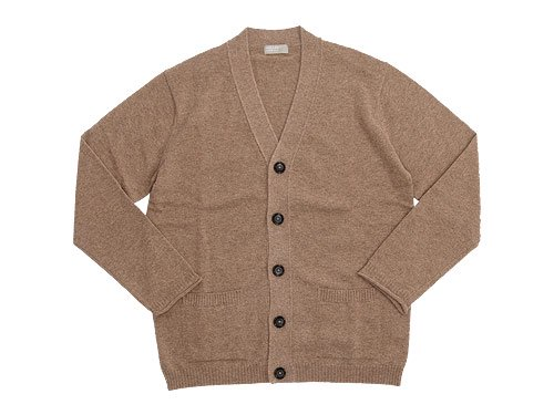 MARGARET HOWELL BED JUMPER CARDIGAN 061BEIGE〔メンズ〕