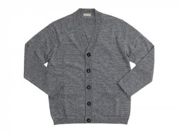 MARGARET HOWELL BED JUMPER CARDIGAN 022GRAY〔メンズ〕