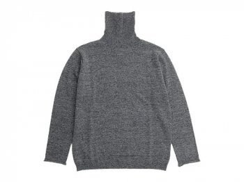 MARGARET HOWELL BED JUMPER TURTLE NECK KNIT 022GRAY〔メンズ〕