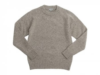 MARGARET HOWELL GUERNSEY KNIT 040BEIGE〔メンズ〕