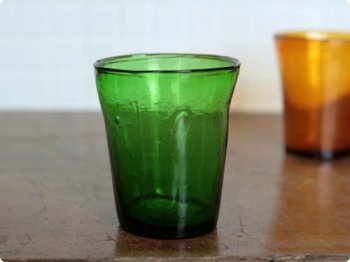 キャンドルグラス グリーン