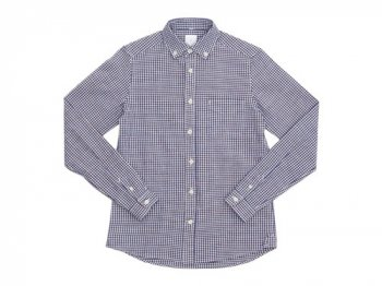 maillot sunset gingham B.D. shirts BROWN x BLUE