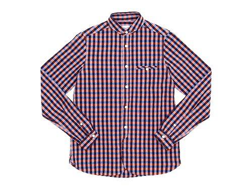 maillot sunset big gingham round work shirts