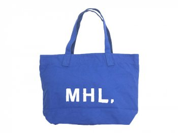 MHL. HEAVY CANVAS TOTE BAG 110FRENCH BLUE