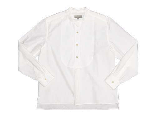 MARGARET HOWELL DENSE SHIRTING COTTON SHIRTS 030WHITE 〔レディース〕