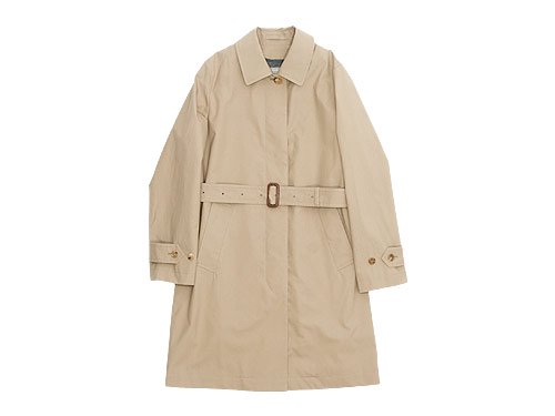 MARGARET HOWELL PROOFED COTTON COAT 051BEIGE 〔レディース〕