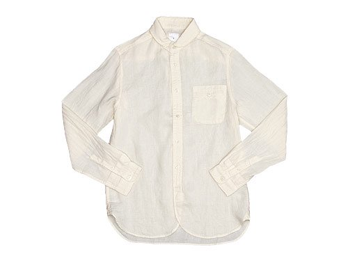 maillot sunset linen round work shirts SHELL