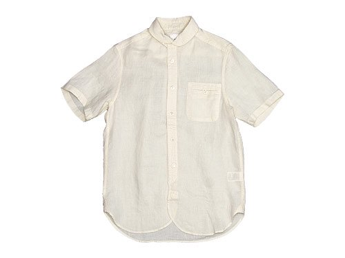 maillot sunset linen round work S/S shirts