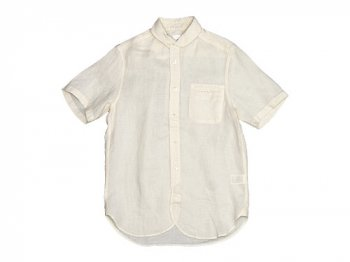 maillot sunset linen round work S/S shirts SHELL