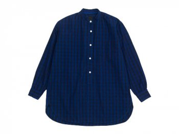 maillot indigo check stand long shirts