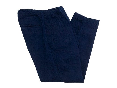 maillot solid denim easy pants NAVY