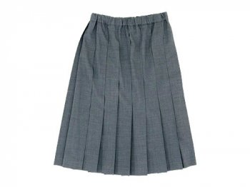 Charpentier de Vaisseau Pleated Skirt GRAY