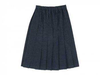 Charpentier de Vaisseau Pleated Skirt DARK GRAY