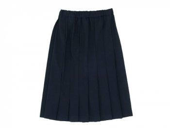 Charpentier de Vaisseau Pleated Skirt NAVY