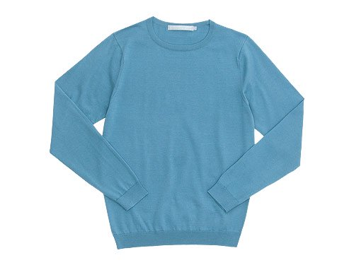 STANDART AT HAND Katie 長袖クルーネックニット LIGHT BLUE