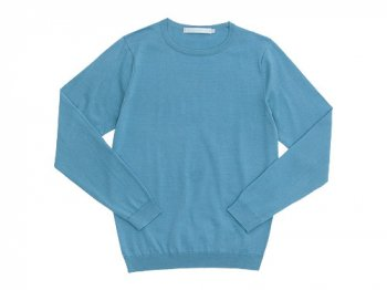 STANDART AT HAND Katie クルーネックニット LIGHT BLUE