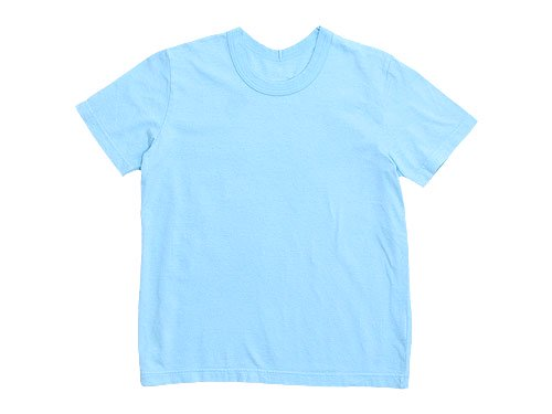 Lin francais d'antan Lurie Short Sleeve T-shirts LIGHT BLUE