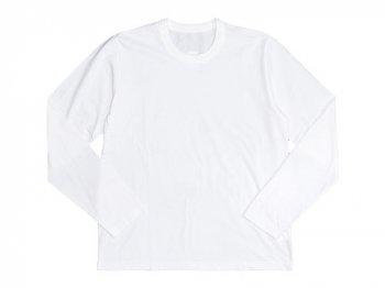 Lin francais d'antan Peguy Long Sleeve T-shirts WHITE
