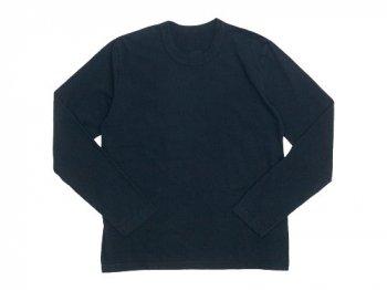 Lin francais d'antan Peguy Long Sleeve T-shirts BLACK
