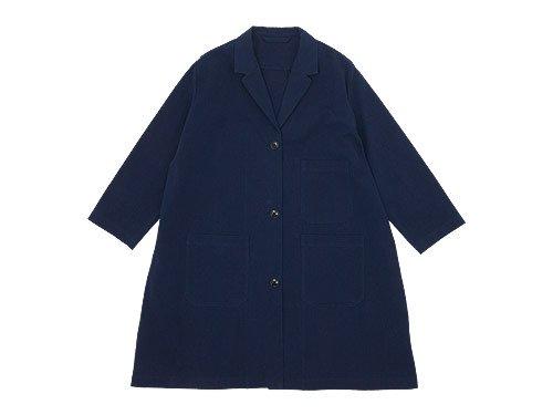 Lin francais d'antan Godard(ゴダール) Cotton Coat NAVY