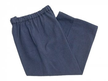 Lin francais d'antan Peyton Cotton wide pants GRAY