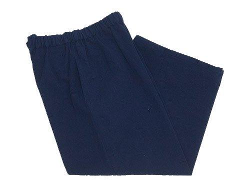 Lin francais d'antan Peyton(ペイトン) Cotton wide pants NAVY