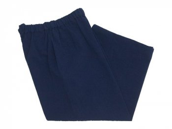 Lin francais d'antan Peyton Cotton wide pants NAVY
