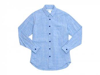 EEL 陶器釦のシャツ 23SAX