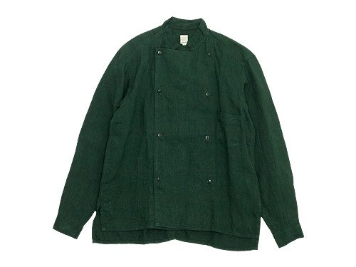 TATAMIZE DOUBLE BRESTED SHIRTS JACKET GREEN