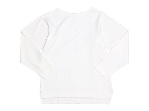 TATAMIZE Boatneck Shirt OFF WHITE