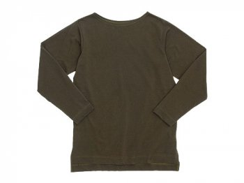 TATAMIZE Boatneck Shirt OLIVE