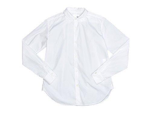 blanc round collar school shirts