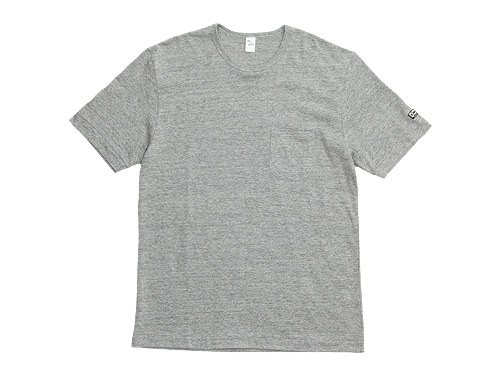 ENDS and MEANS Pocket Tee GRAY