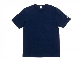 ENDS and MEANS Pocket Tee NAVY