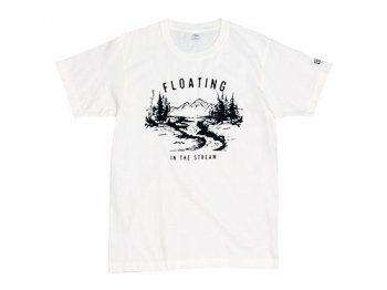 ENDS and MEANS Floating Tee WHITE