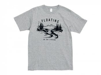 ENDS and MEANS Floating Tee GRAY