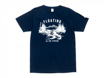 ENDS and MEANS Floating Tee NAVY