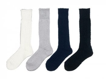 TOUJOURS Cotton Rib Socks 【FM24XA03】