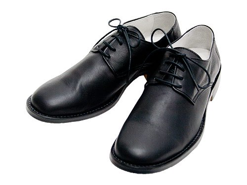 TOUJOURS Sheep Leather Oxford Shoes BLACK 【DM24XA01】
