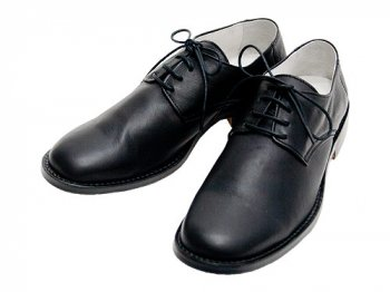 TOUJOURS Sheep Leather Oxford Shoes BLACK