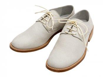 TOUJOURS Nubuck Oxford Shoes WHITE