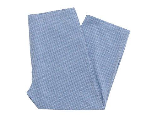 TOUJOURS String Wrap Pants BLUE STRIPE